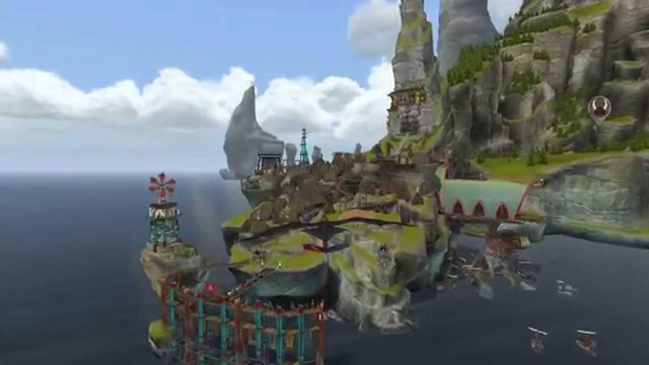 The island village of Berk