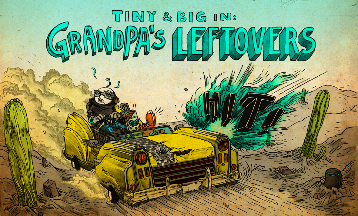 Photo of Tiny and Big: Grandpa's Leftovers Review