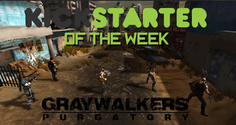 Photo of Kickstarter of the Week – Graywalkers: Purgatory