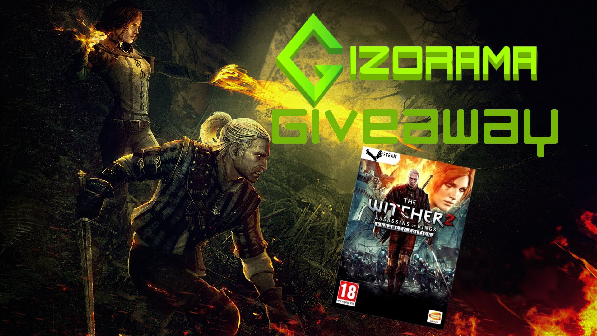 Photo of GIZORAMA GIVEAWAY: The Witcher 2: Enhanced Edition