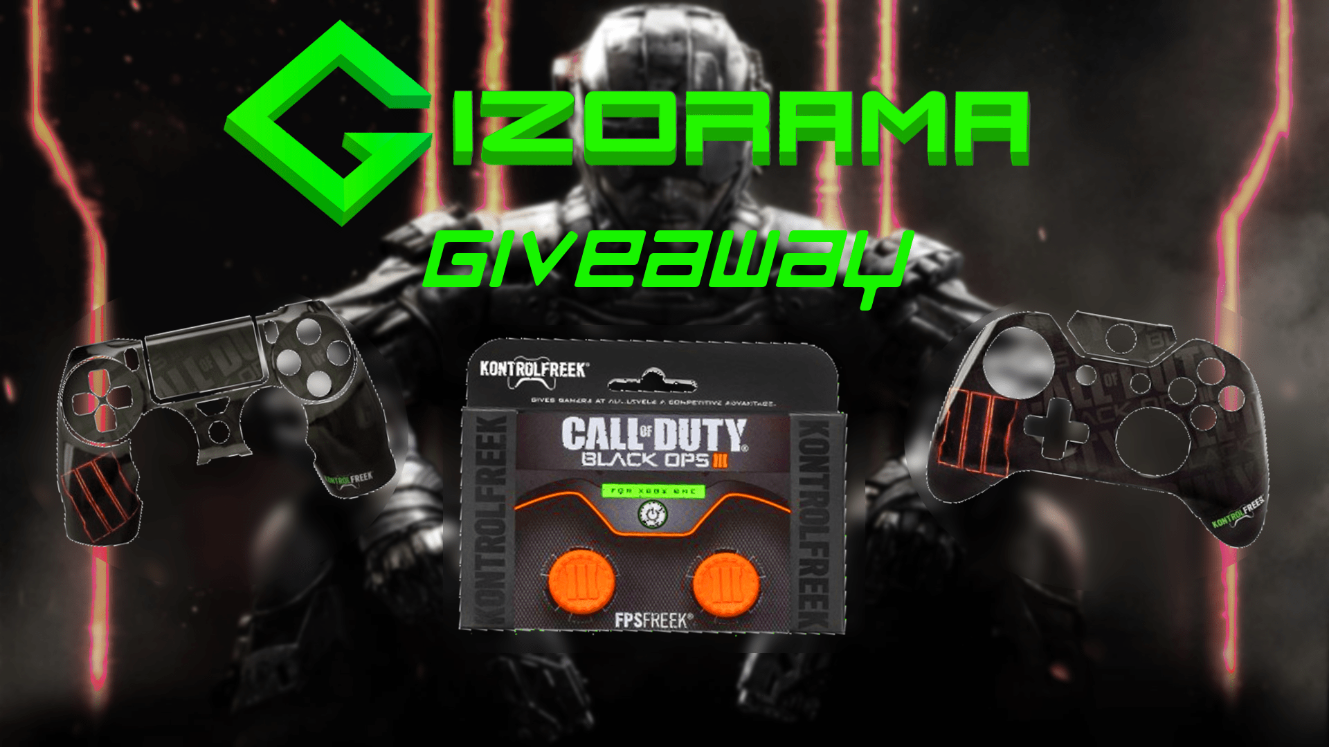 Photo of GIZORAMA Giveaway: KontrolFreek Call of Duty: Black Ops 3 Bundle