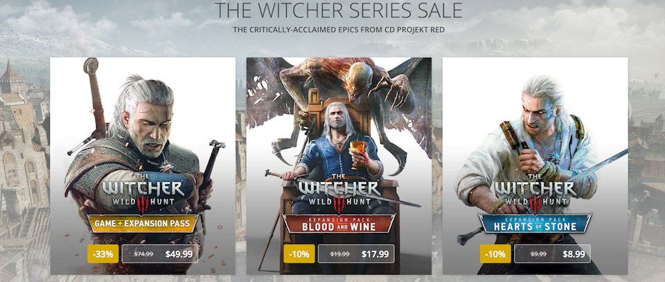 Photo of GOG Holds Sale On The Witcher Series