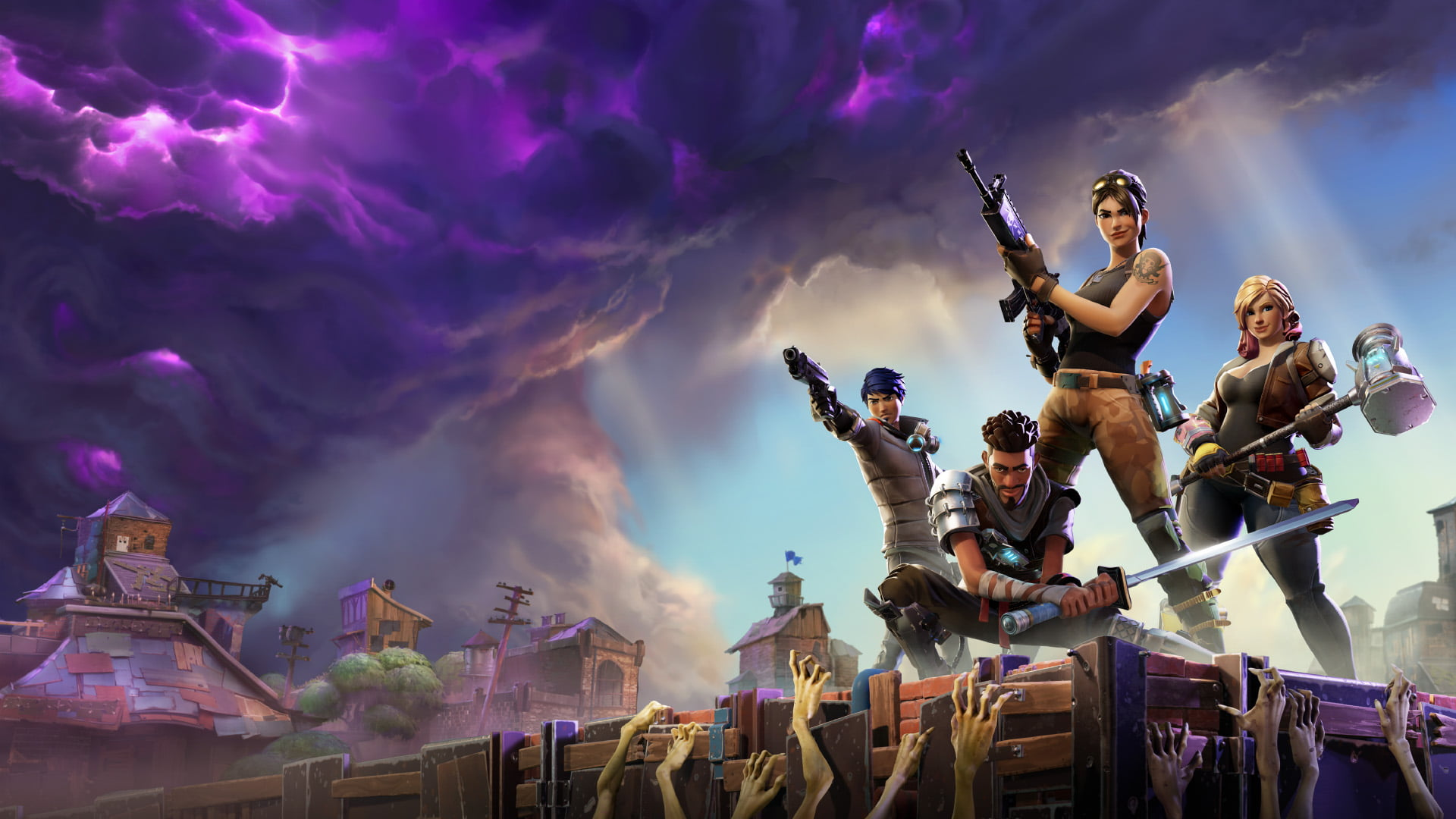 Photo of Fortnite Season 4 Announcement Trailer & Patch Notes