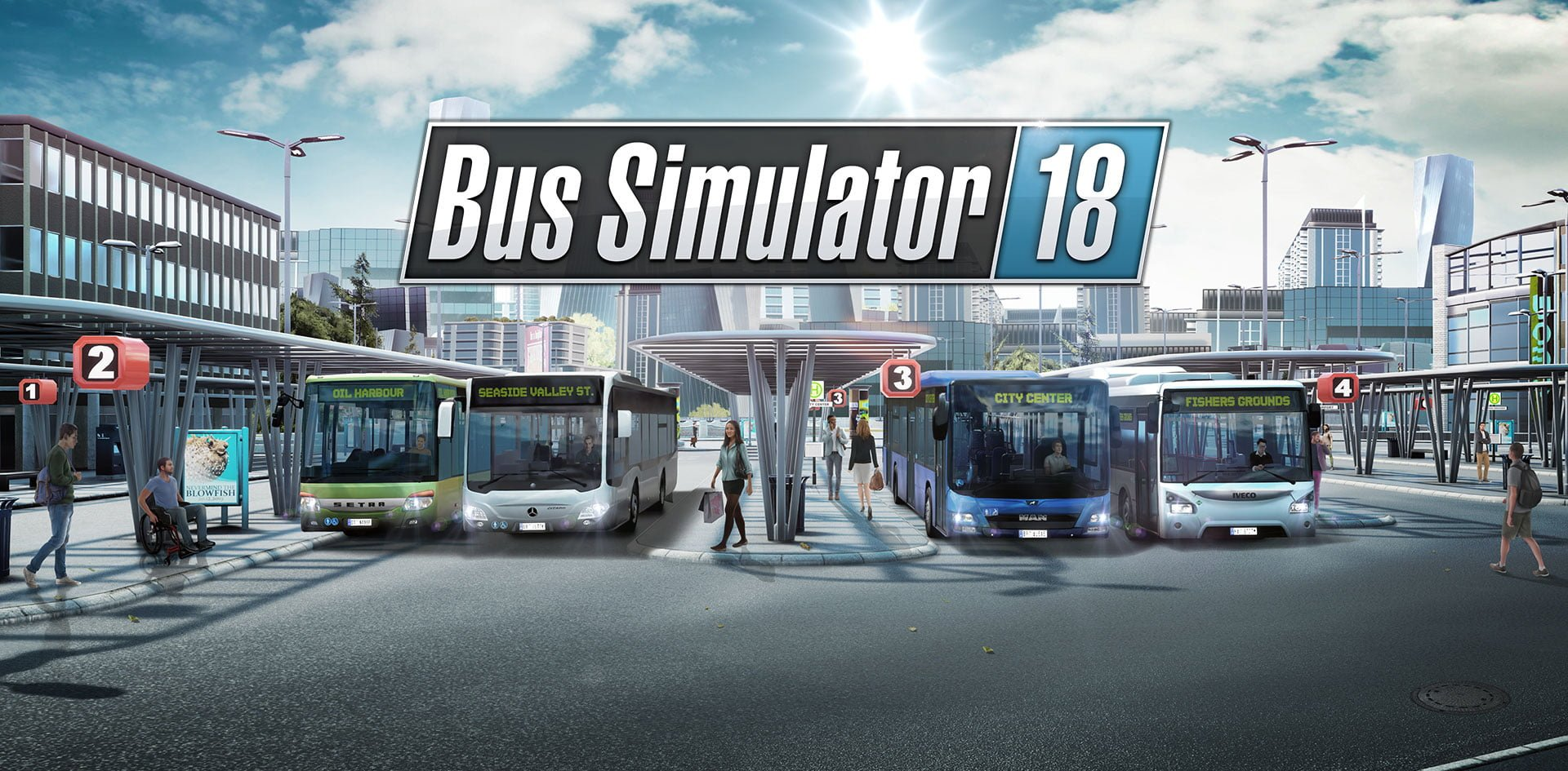 Photo of Win Bus Simulator 18 on Steam