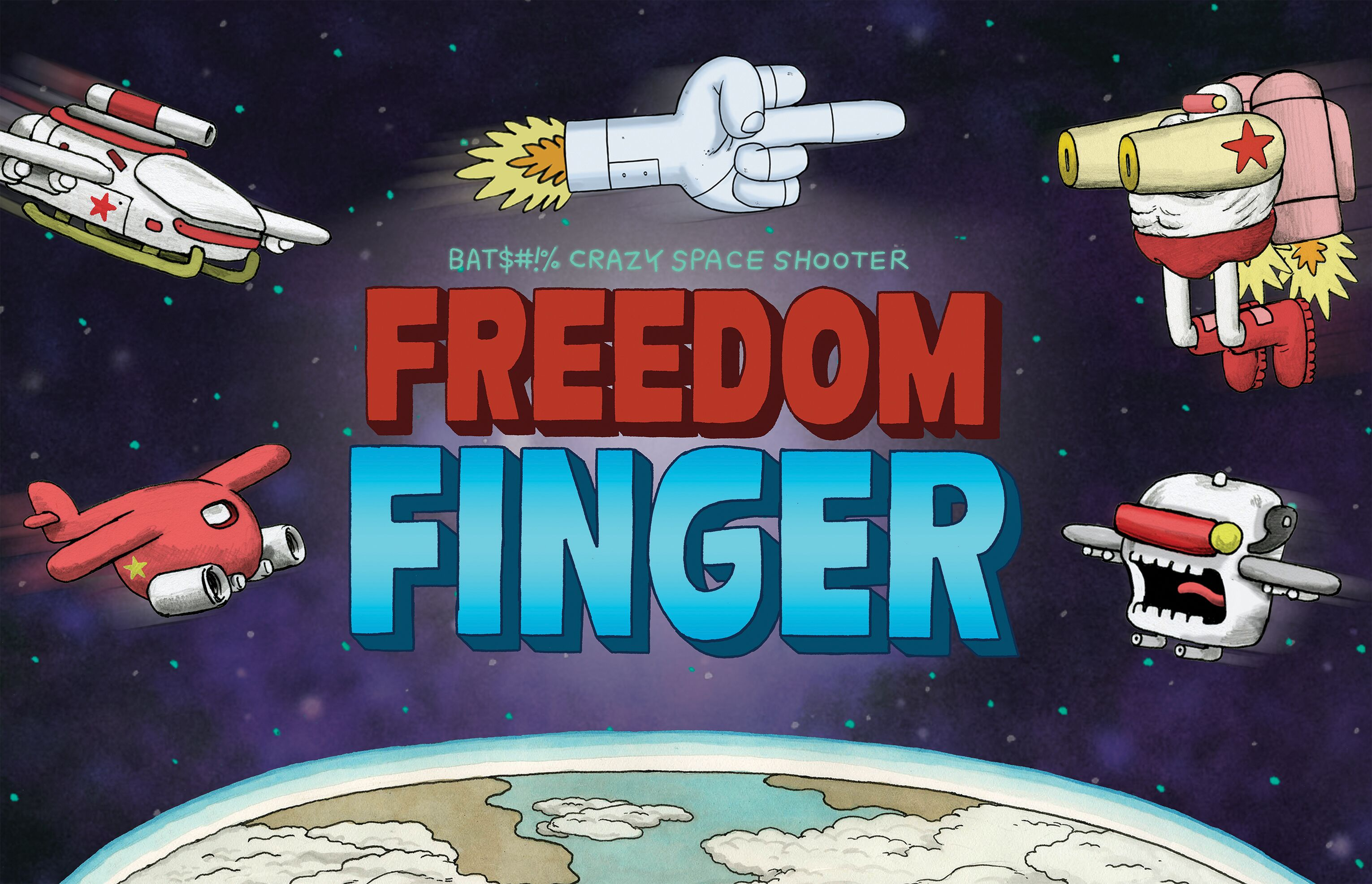 Photo of Freedom Finger coming to PS4, Xbox One, and PC in 2019