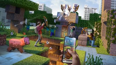 "Photo of Adventures in ""Minecraft Earth"" now playable from home!"