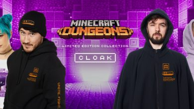 Photo of Available Now: Minecraft Dungeons Limited Edition by Cloak
