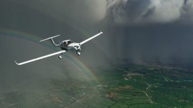 Photo of Flying Home with Microsoft Flight Simulator